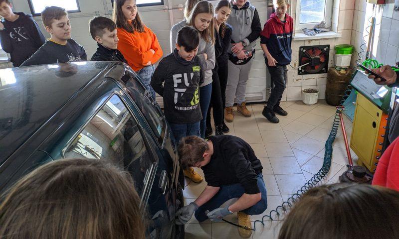 Wizyta uczniów ze Szkoły Podstawowej w Drogoszach w CKZ w Kętrzynie