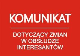 Zmiana zasad obsługi interesantów w Starostwie Powiatowym w Kętrzynie