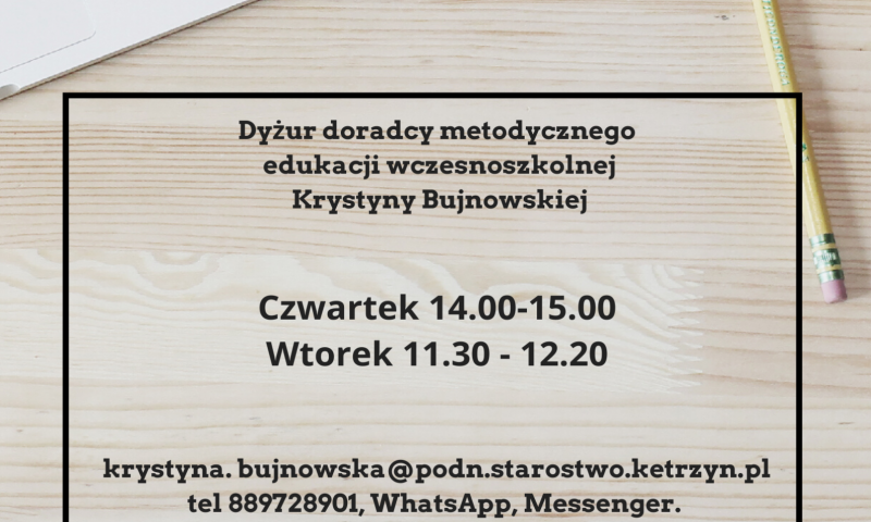 Informacja Powiatowego Ośrodka Doskonalenia Nauczycieli w Kętrzynie
