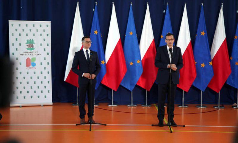 Wizyta premiera w Kętrzynie