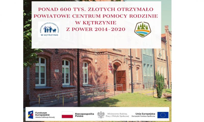 """Projekt pn. """"Wsparcie dzieci umieszczonych w pieczy zastępczej w okresie pandemii COVID-19"""" będzie realizowany w powiecie kętrzyńskim"""