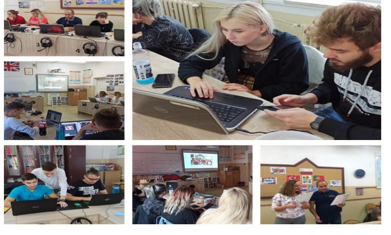 """Wirtualny finał międzynarodowego projektu Erasmus + """"Raising Responsible Citizen"""" w ZS Reszel"""