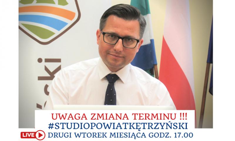 Uwaga!! Zmiana terminu spotkania w ramach #StudioPowiatKętrzyński