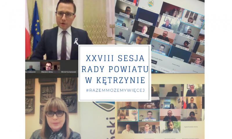 XXVIII sesja Rady Powiatu w Kętrzynie
