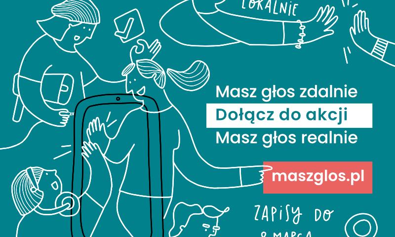 """Ruszyły zapisy do akcji """"Masz Głos 2021"""""""