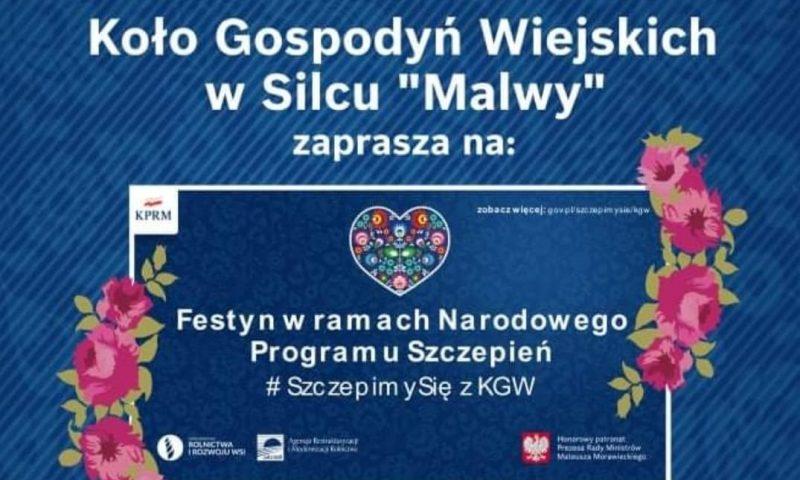 Festyn w ramach Narodowego Programu Szczepień